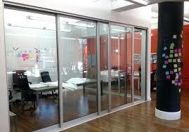 Interior Office Sliding Glass Doors