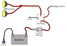 nb1 to nb2 headlight wiring harness info mx 5 miata forum this way when you switch on the high beams power from the high beam triggers the relay and also sends power to the low beams high beams turn off
