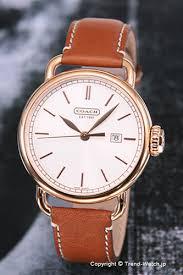 trend watch rakuten global market 14600980 coach watch classic 14600980 coach watch classic classical music pg silver brown leather strap men coach