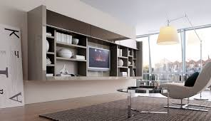 shelving furniture living room glass display cabinet wall unit 18