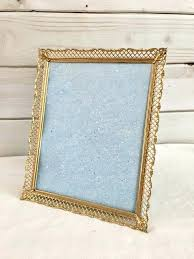 8x10 vintage frame oval picture gold brass metal frames ornate j pic stained glass picture frame photo vintage home 8x10 gold