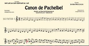 pachelbel canon violin sheet music pachelbels canon in c major sheet music for flute violin and oboe g