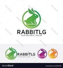 Rabbit Designer Label Rabbit Logo Design