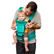 BabySteps Ergonomic Baby Carrier with Hip Seat for All Seasons, 6 ...
