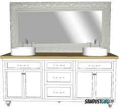 free bathroom vanity cabinet plans. double vanity plans, free bathroom cabinet plans