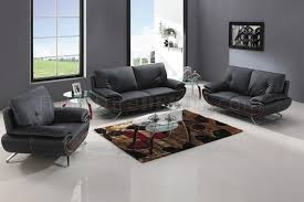 black bonded leather sofa loveseat