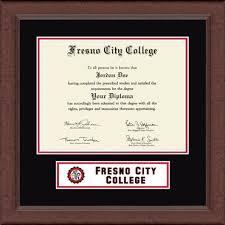 fresno city college lasting memories banner diploma frame in  fresno city college diploma frame