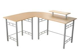buy office desk natural. Amazon.com: Target Marketing Systems Modern L-Shape Wrap Computer/Writing/ Office Corner Desk With Raised Hutch For Computer Monitor, Natural: Kitchen \u0026 Buy Natural