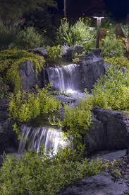 koi pond lighting ideas. Waterfall Lighting Love The Idea Of Under Ledge Lights Koi Pond Ideas R