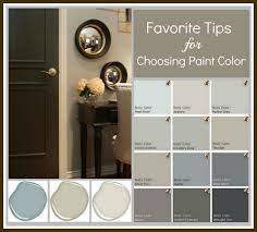 how to choose paint colorsFavorite Tips  Tricks for Choosing a Paint Color