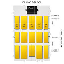 Casino Del Sol Map