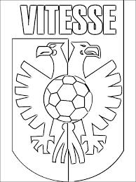 Kleurplaat Voetbalclub Voetbalclub Nederland Logo Kleurplaten