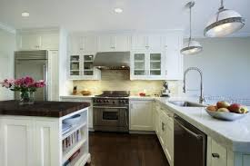 kitchens white kitchen cabinets subway tiles backsplash homes with modern ideas black countertops and colors dark