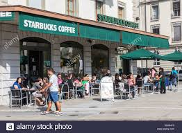 starbucks store exterior. Modren Starbucks Exterior Of Starbucks Cafe Geneva Switzerland  Stock Image In Store Exterior E