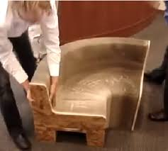 AWESOME SHAPE SHIFTING FURNITURE CHANGES FROM A CHAIR TO A TABLE