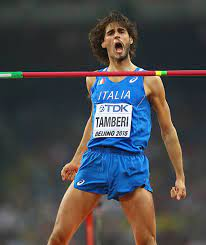 Gianmarco Tamberi testimonial delle Final Eight di Coppa Italia a Pesaro