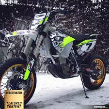 husqvarna 501 fe supermoto conversion otto winter derestricted