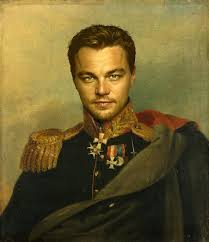 20 famous actors painted as outstanding russian military generals