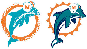 Past and present Dolphins logos featured on list of NFL's best/worst ...