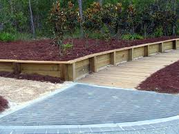 Small Picture Wood Retaining Wall Timber Retaining Walls Wood Fence