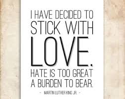 Mlk Quotes About Love Beauteous A48 Dr Martin Luther King Jr Quote Print Motivational Quote