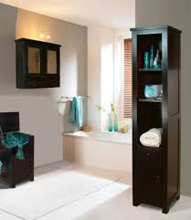 Bathroom Storage Cabinets Floor Guest Bathroom Ideas With Pleasant Atmosphere Traba Homes