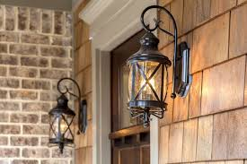 image of popular front porch light fixtures home depot