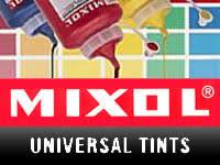 Mixol Tint Color Chart Seppleaf Products Gold Leaf Silver Leaf Gilding Supplies
