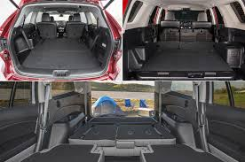 Suv Cargo Space Chart Which Midsize Suvs Have The Most Cargo Room Motor Trend