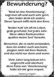 Bewunderung Neid Ist Eine Gedichte Von Norbert Van Tiggelen