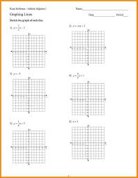 graphing linear equations worksheets on form practice worksheet free algebra 1 answers