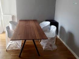 affordable dinner tables ikea ides avec good stockholm dining table homesfeed idees simple wooden with white chairs with ikea stockholm stol