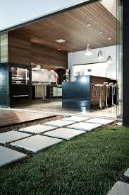 Great Kitchen Leading Onto Outdoor Terrace