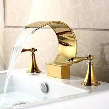 delta 3 piece bathroom faucet delta 3 piece bathtub faucet bathroom sink faucets gold fixtures waterfall