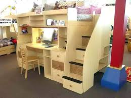 bunk bed desk bunk bed desk dresser combo best loft ideas on with kid beds queen