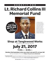 Memorial Fundraiser Flyer Fundraiser For Richard Collins Iii At Tanglewood Works