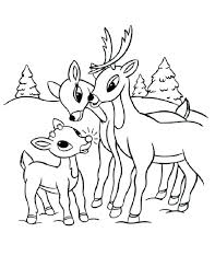 Rudolph Coloring Pages Coloring Pages And Net Rudolph The Red Nosed