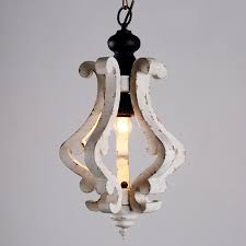 chinese factory antique mini vintage wooden chandeliers pendant light supplier