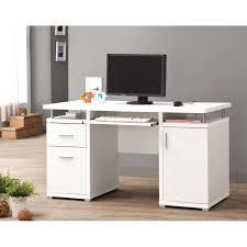 sleek office desk. Sleek Office Desk Contemporary White Modern Home Furniture W