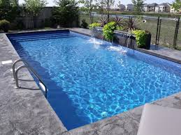 Modern Rectangle Pool Design Tropical Pool Other by Oasis