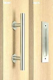 flush pocket door pulls edge pull handle home depot mount knob sliding glass lock