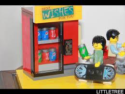 Lego Soda Vending Machine Mesmerizing Lego Ideas Coca Cola Vending Machine Lego Soda Machine Stracatela