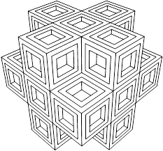 Small Picture Geometric Coloring Pages For Adults AZ Coloring Pages