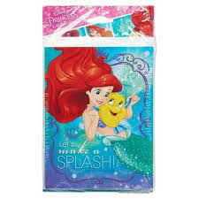 16ct The Little Mermaid Ariel Invitationthank You Card Pack Target