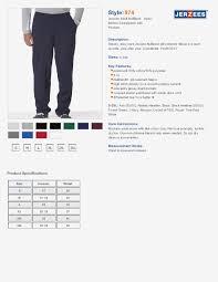 Jerzees T Shirt Size Chart Jerzees Nublend Hooded Sweatshirt Size Chart Nils Stucki