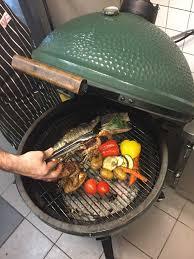 big green egg bbq grill in den haag aan denneweg