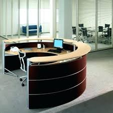 circular office desks. Office Credenza:Remarkable Black Round Desk Interesting Workstations  Furniture With Circular Throughout Traditional Square Circular Office Desks M