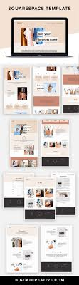 Thrive Web Design Thrive Squarespace Template Kit Business Web Design Small