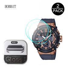 2 Gói 2.5D 9H Kính Cường Lực Dành Cho Đồng Hồ G SHOCK GST B200G GST B200X  GST B100 Đồng Hồ Thông Minh Smartwatch Tấm Bảo Vệ Màn Hình Chống Trầy Xước