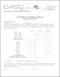 Simple Profit Loss Statement Basic And Template Free Excel